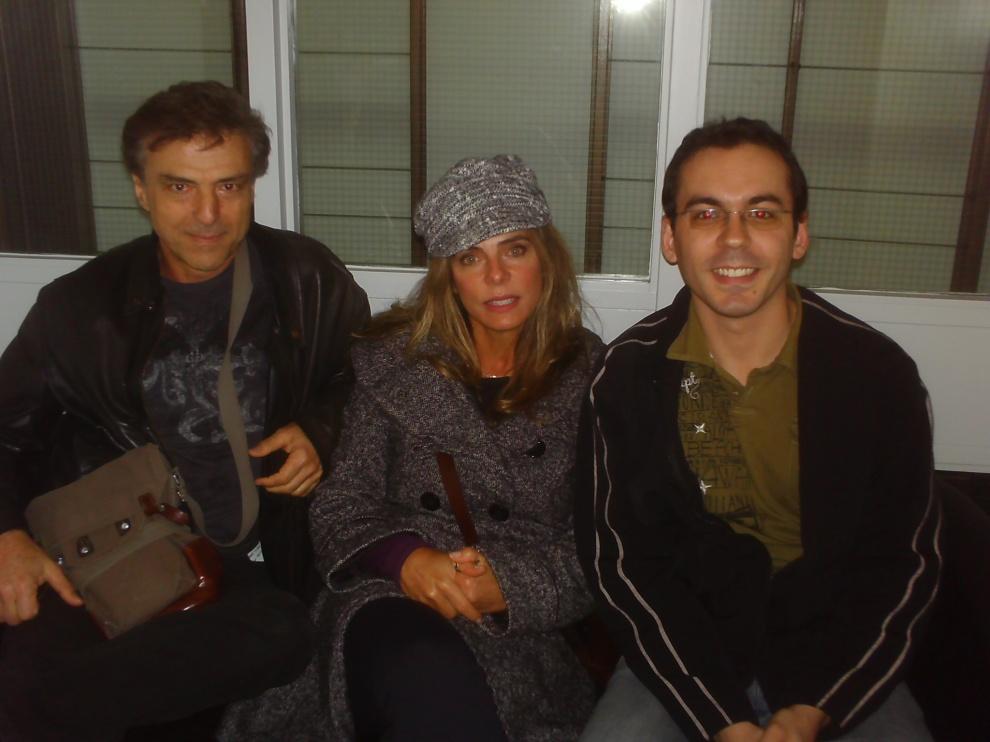 """Eterno casal 20: Carlos Alberto Riccelli e Bruna Lombardi, diretor e atriz/roteirista de """"O Signo da Cidade"""""""