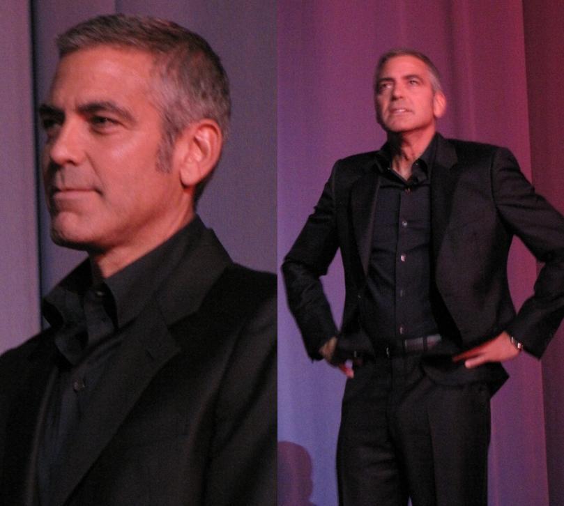 Mais Clooney: soltinho que só ele...