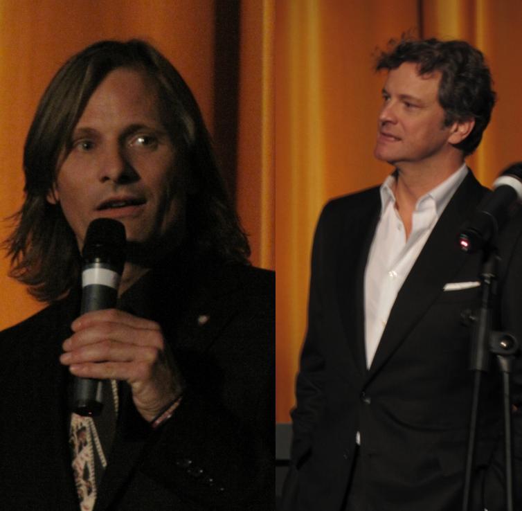 """Viggo Mortensen apresenta """"The Road"""" e Colin Firth apresenta """"A Single Man"""": futuros indicados ao Oscar de ator 2010?"""
