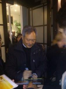 Ang Lee, sempre sorrindo