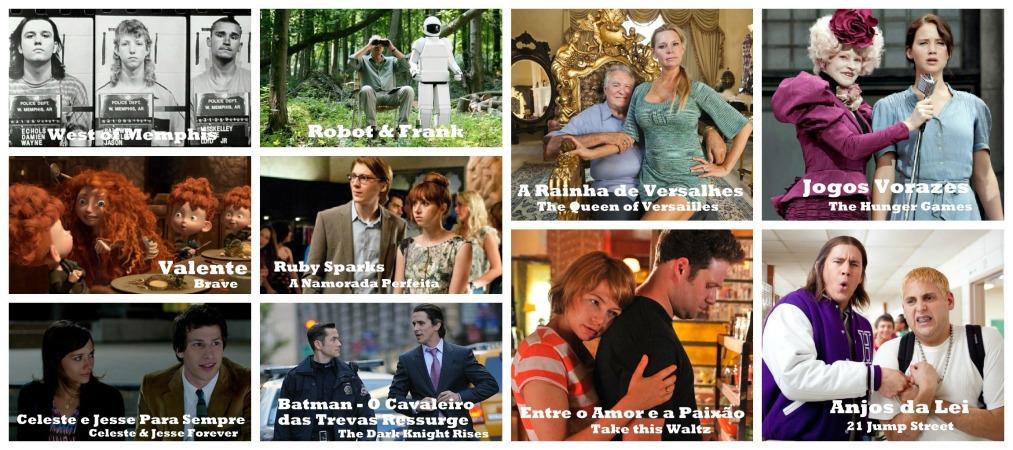 10 Mencões Honrosas - Melhores de 2012