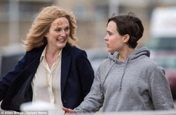 Julianne Moore & Ellen Page Freeheld Oscar 2016
